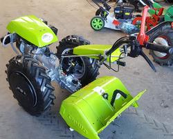 MOTOCULTEUR GRILLO FRAISE ARR + CHARRUE