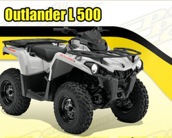 QUAD CAN-AM L 500